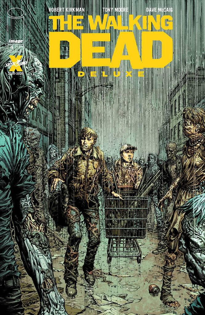 WALKING DEAD DELUXE #4 Collector's Pack Pre-order