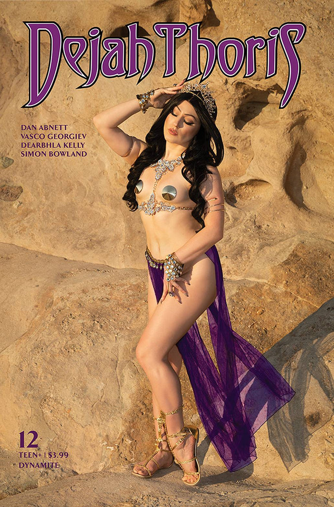 DEJAH THORIS (2019) #12 CVR E HOLLON COSPLAY
