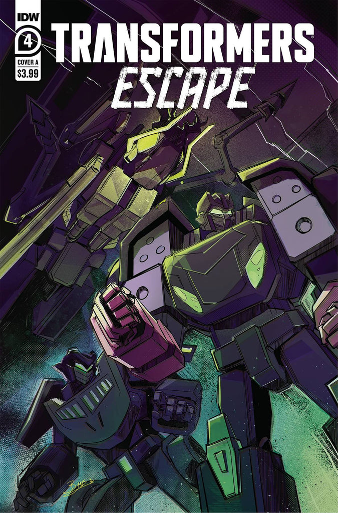 TRANSFORMERS ESCAPE #4 PRE-ORDER