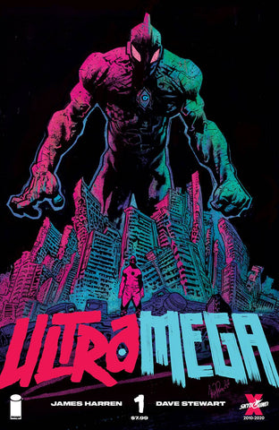 ULTRAMEGA BY JAMES HARREN #1 PRE-ORDER