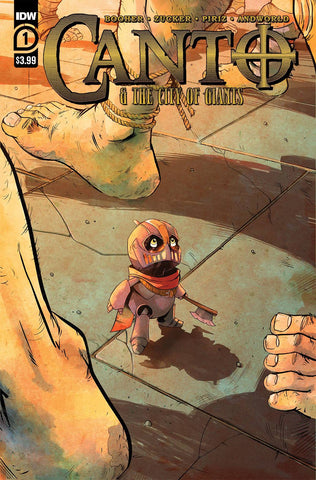 CANTO & CITY OF GIANTS #1 PRE-ORDER