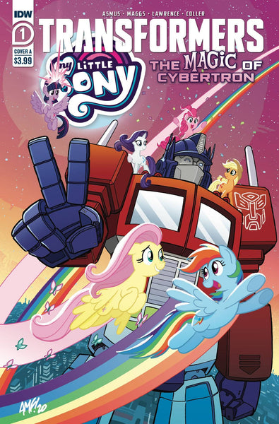 My Little Pony TRANSFORMERS II #1 PRE-ORDER