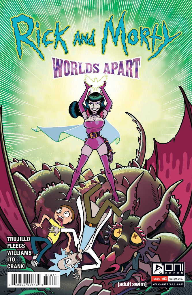 RICK AND MORTY WORLDS APART #3 PRE-ORDER