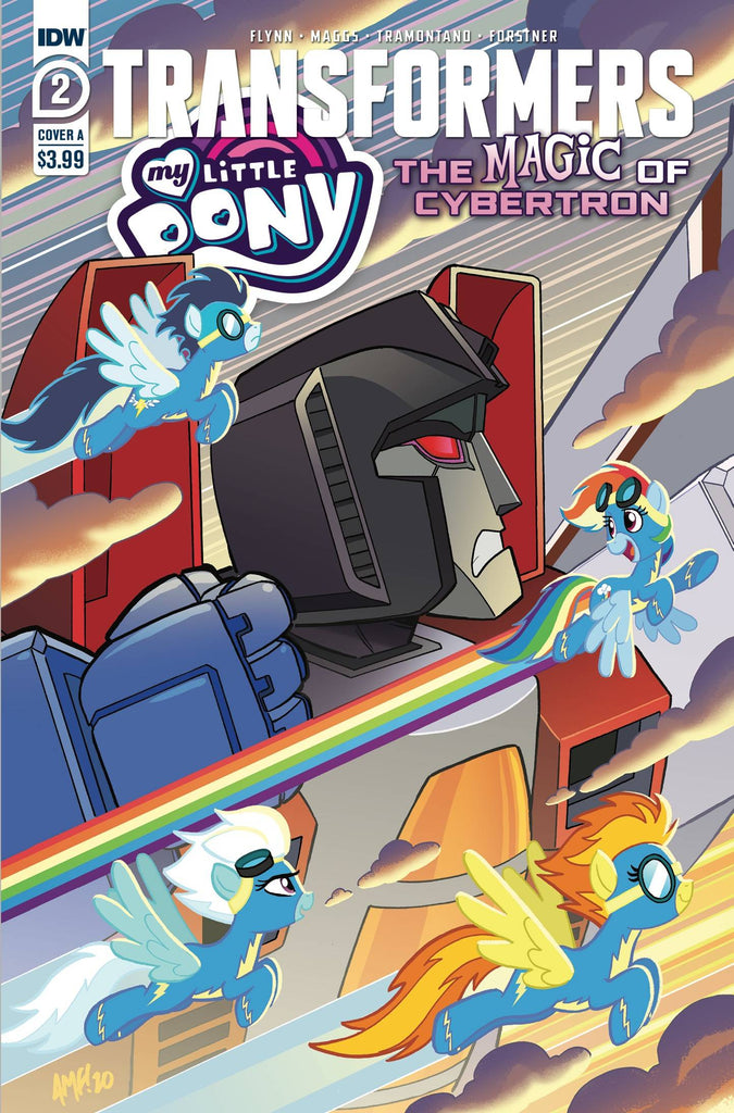 MY LITTLE PONY TRANSFORMERS II #2 PRE-ORDER