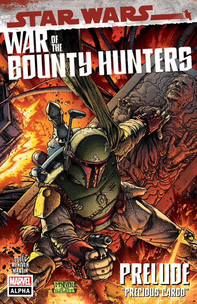 STAR WARS WAR OF THE BOUNTY HUNTERS ALPHA #1 PRE-ORDER