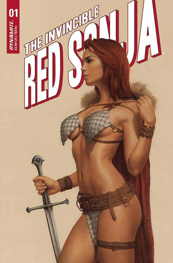 INVINCIBLE RED SONJA #1 PRE-ORDER