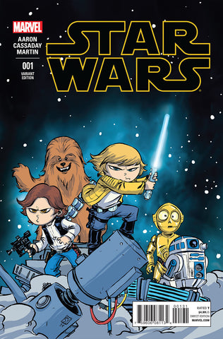 STAR WARS #1 YOUNG VARIANT