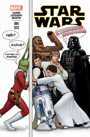 STAR WARS #1 CHRISTOPHER HUMOROUS PARTY VARIANT
