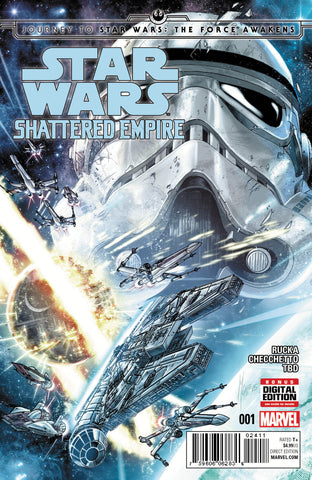 STAR WARS JOURNEY TO THE FORCE AWAKENS #1 (OF 4) CHECCHETTO VARIANT