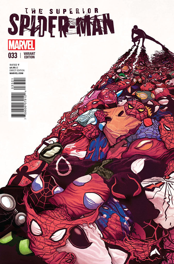 Superior Spider-Man #33 1:10 Mike Del Mundo Variant