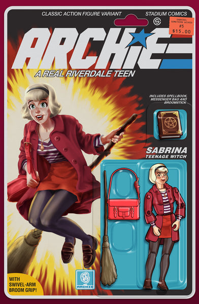 SABRINA SOMETHING WICKED #5 GI JOE Homage Variant Cover Pre-Order