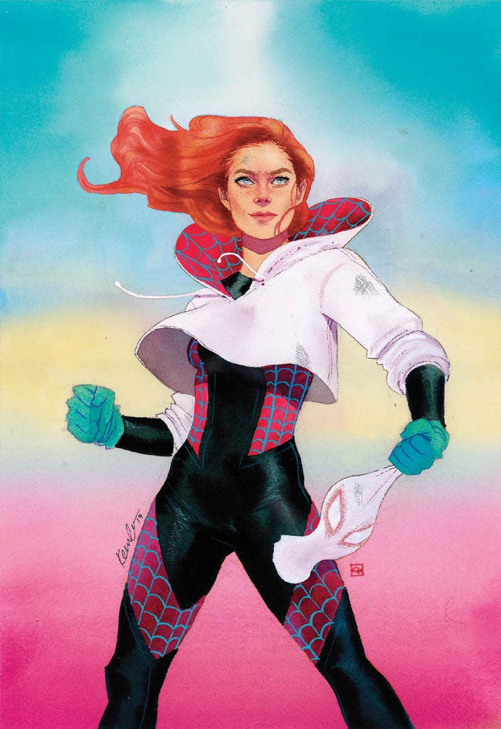 SPIDER-GWEN #21 Mary Jane Variant Cover by Kevin Wada