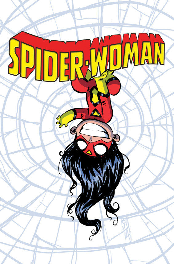 SPIDER-WOMAN #1 SKOTTIE YOUNG VARIANT SV