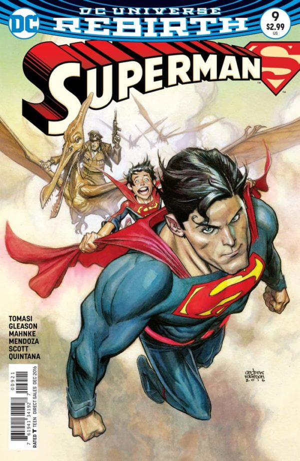 SUPERMAN (REBIRTH) VARIANT #9
