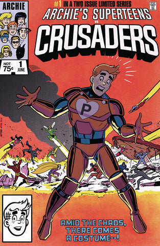 "ARCHIES SUPERTEENS VS CRUSADERS #1 ""Secret Wars #8"" Homage EXCLUSIVE Variant Cover!"