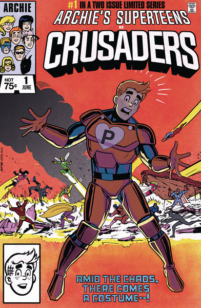 ARCHIES SUPERTEENS VS CRUSADERS Tribute EXCLUSIVE Variant Cover Set