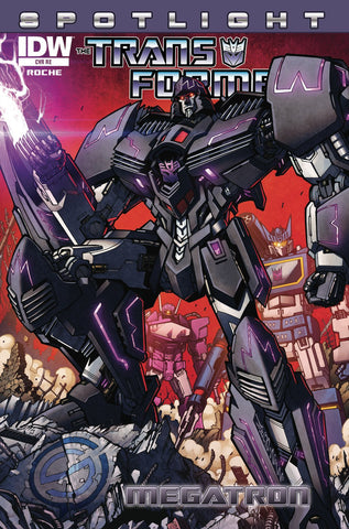 Transformers Spotlight: Megatron Stadium Comics Exclusive Variant