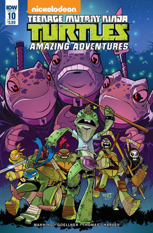 Teenage Mutant Ninja Turtles Amazing Adventures #10