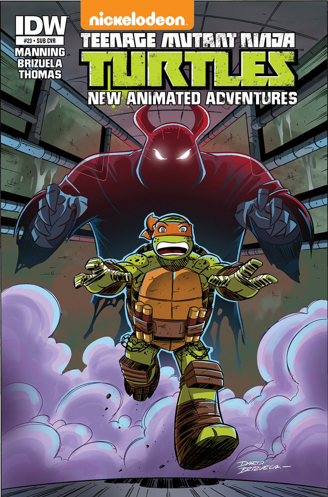TMNT NEW ANIMATED ADVENTURES #23