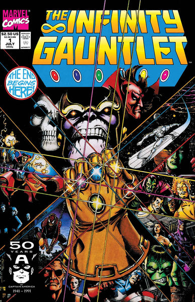 TRUE BELIEVERS INFINITY 8 Comic Set