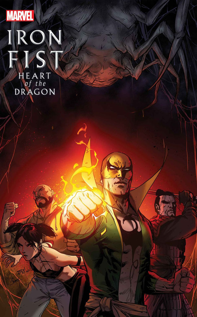 IRON FIST HEART OF THE DRAGON #4 PRE-ORDER