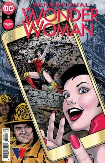 SENSATIONAL WONDER WOMAN #3 PRE-ORDER
