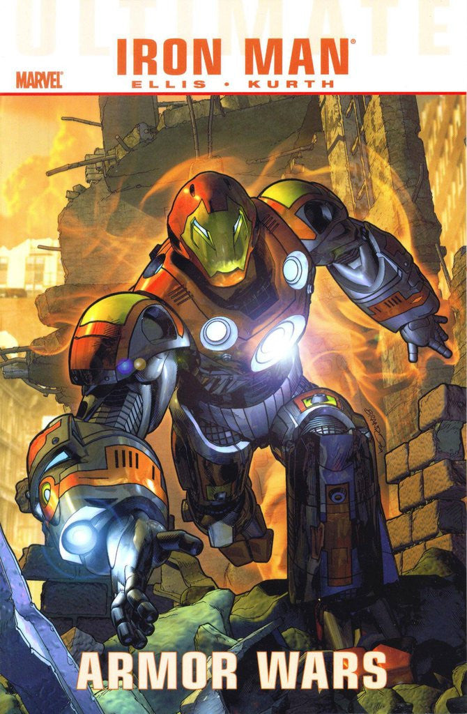 ULTIMATE COMICS IRON MAN ARMOR WARS TP