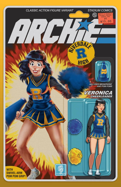 BETTY & VERONICA #1 GI JOE Figure Homage Variant Cover Pre-Order