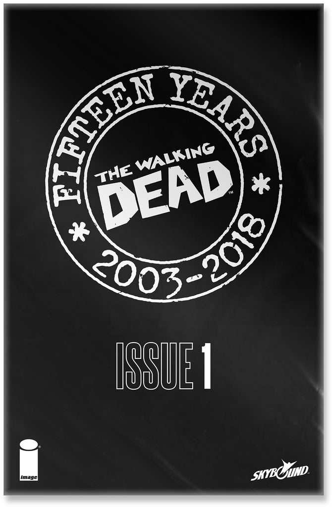 WALKING DEAD ANNIVERSARY VARIANT Collector's Pack Pre-order
