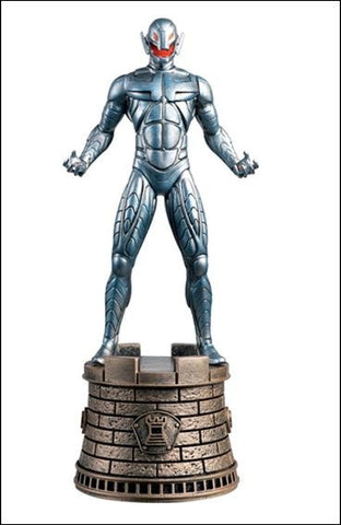 MARVEL CHESS FIGURE #30 ULTRON BLACK ROOK