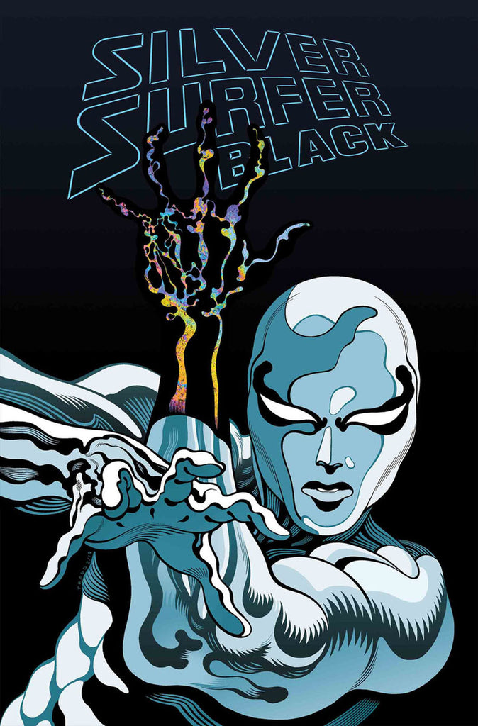 SILVER SURFER BLACK #1 COVER BY TRADD MOORE (1st Print)