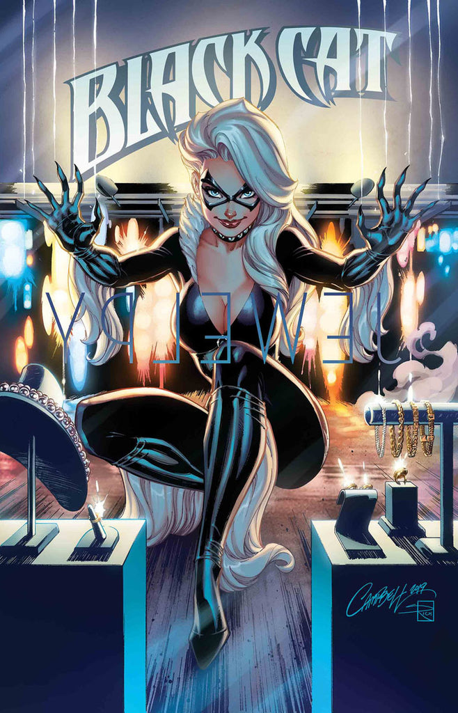 BLACK CAT #1 Cover by J. SCOTT CAMPBELL (1st Print)