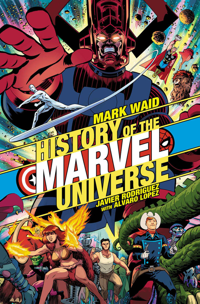 HISTORY OF THE MARVEL UNIVERSE #1 Collector's Pack Pre-order