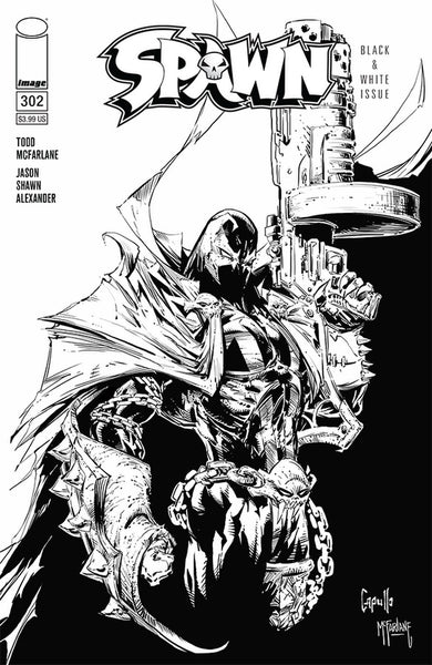 SPAWN #302 Cover Pack Pre-order