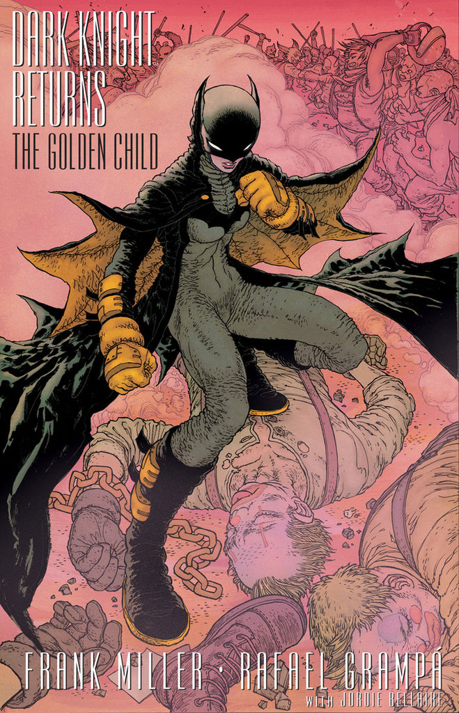 THE DARK KNIGHT RETURNS GOLDEN CHILD #1 Collector's Pack Pre-order