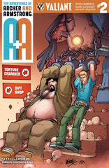 A&A: The Adventures of Archer & Armstrong #2 2nd Printing