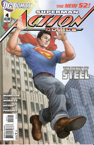 ACTION COMICS #4 VARIANT