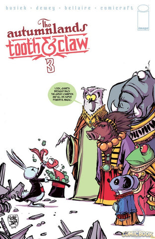 AUTUMNLANDS TOOTH & CLAW #3 SKOTTIE YOUNG COVER