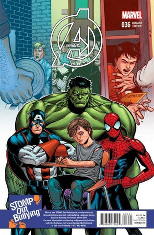 AVENGERS #36 STOMP OUT BULLYING CHEN VARIANT TRO
