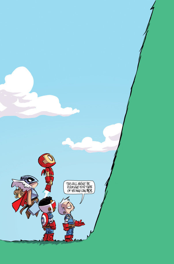 AVENGERS STANDOFF WELCOME TO P HILL #1 Skottie Young Variant