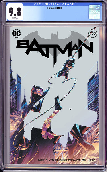 BATMAN #100 Exclusive Variant Cover