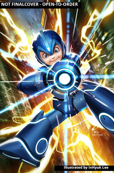 MEGA MAN FULLY CHARGED #1 Collector's Pack Pre-order
