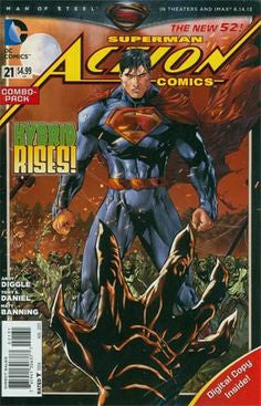 ACTION COMICS #21 combo pack variant