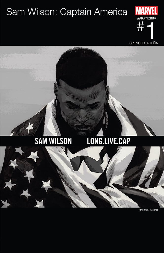 SAM WILSON CAPTAIN AMERICA #1 Variant Cover