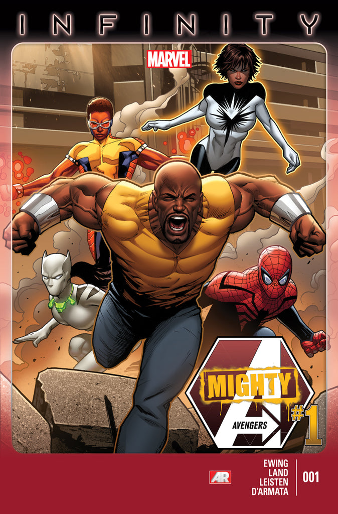 MIGHTY AVENGERS # 1 - FIRST MONICA RAMBEAU AS SPRECTUM