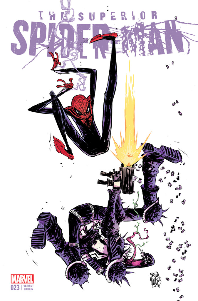 SUPERIOR SPIDER-MAN #23 - 1:50 SKOTTIE YOUNG VAR