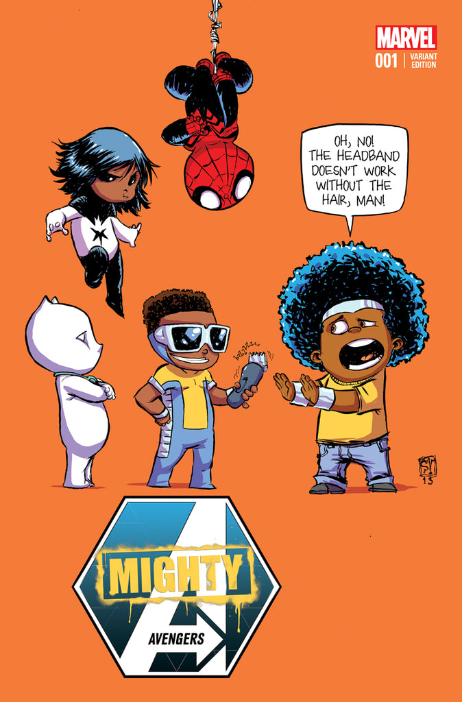MIGHTY AVENGERS #1 SKOTTIE YOUNG VARIANT