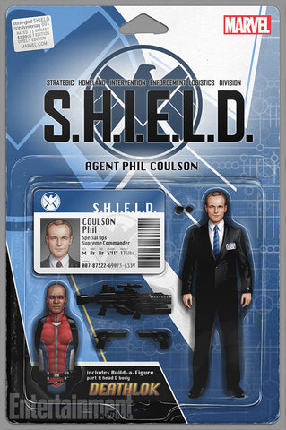 MOCKINGBIRD SHIELD 50TH ANNIV #1 ACTION FIGURE VARIANT
