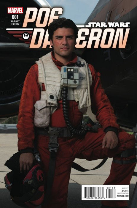 STAR WARS POE DAMERON #1 MOVIE VARIANT