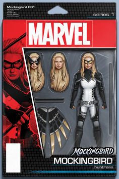 MOCKINGBIRD #1 Action Figure Variant
